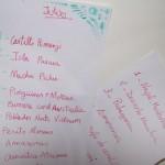 Listas de destinos favoritos