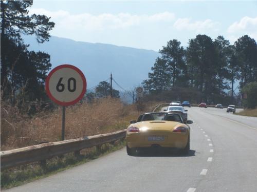 Carreteras en Surafrica