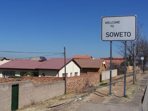 Entrada de Soweto