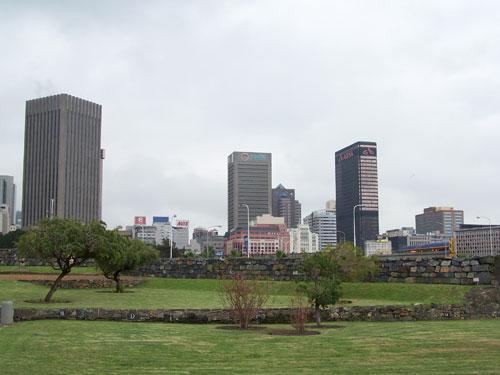 Perfil del barrio de negocios de Cape Town