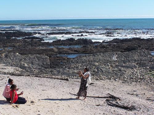Costa rocosa de Sea Point