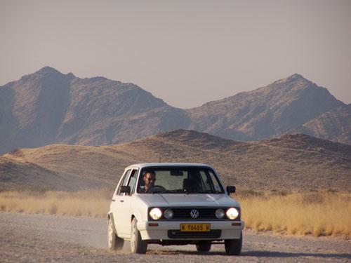 Nuestra 'maquina' (Desierto Namib)