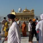 Letanías sij en Amritsar