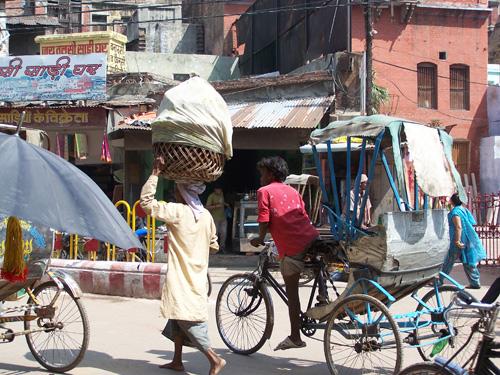 Rickshaw a pedales