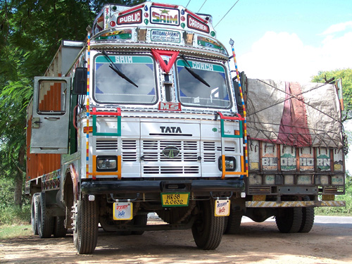 Camiones tunning en India
