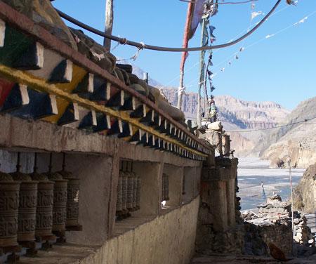 Ruedas de oracion tibetanas