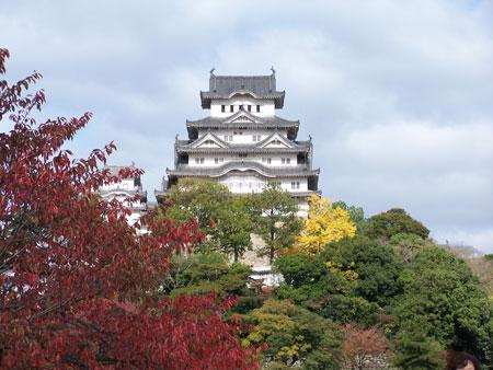 Castillo del señor feudal Himeji-4
