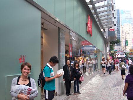 De compras en Hong Kong