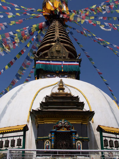 Pagoda en Katmandú