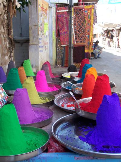 Colores en Pushkar