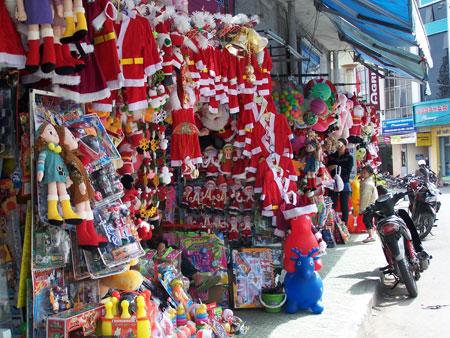 Tienda en Dalat (Vietnam)