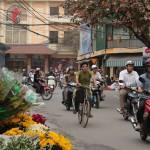 Hanoi: 36 calles y millones de motos
