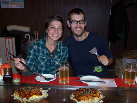 Okonomiyakis, la 'pizza' japonesa