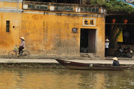 Hoi An junto al río