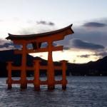 El torii flotante de Miyajima
