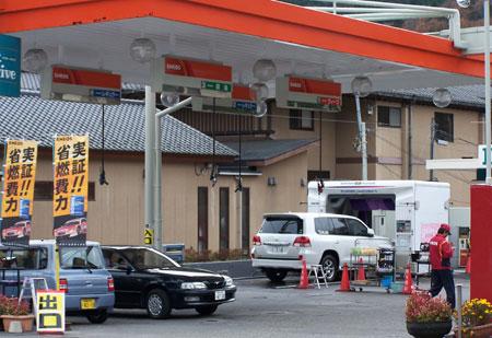 Gasolineras en Japón