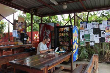 Zona común exterior en Travellers Oasis  (Cairns)