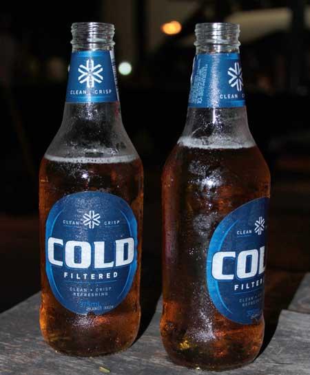 Cerveza Carlton Cold