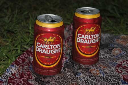 Cerveza Carlton Draught