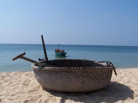 Barcas vietnamitas en Phu Quoc