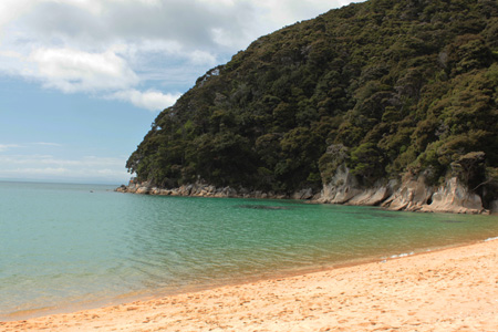 A la rica playa de aguas frescas