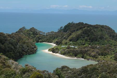Laguna interior en Abel Tasman
