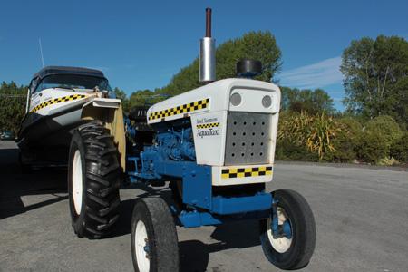 Tractores remolcadores de lanchas
