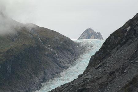 Lengua del glaciar Franz Josef