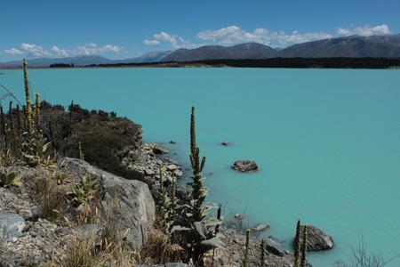 Azul del Lago Pukaki