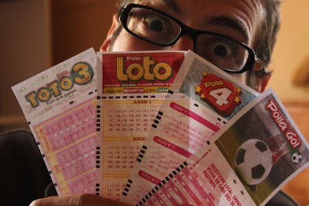Cupones para jugar a la lotería chilena