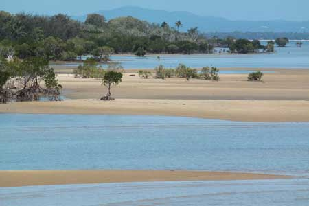 Bonitas playas solitarias en North Queensland