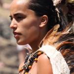 Cimbreo polinesio en la Tapati