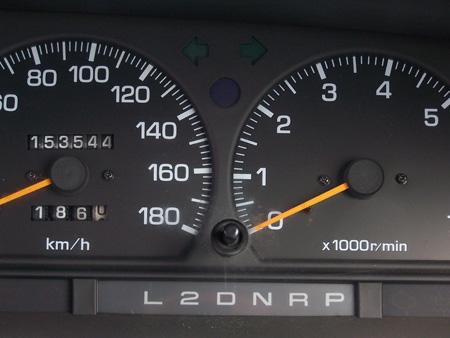 Panel de conducción en un coche automático