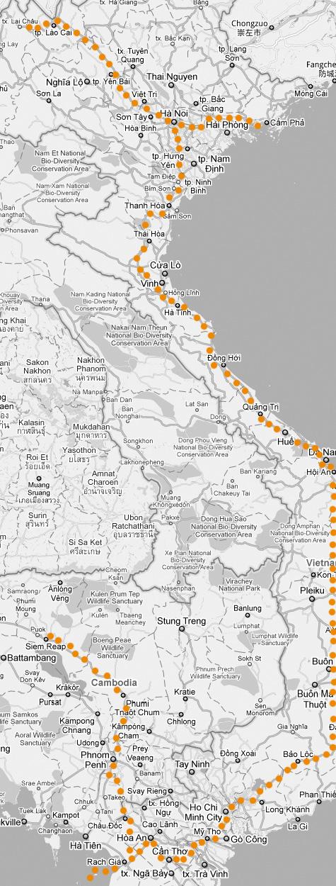 Ruta Vietnam y Camboya