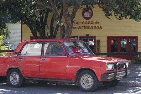 Coches míticos por Bariloche