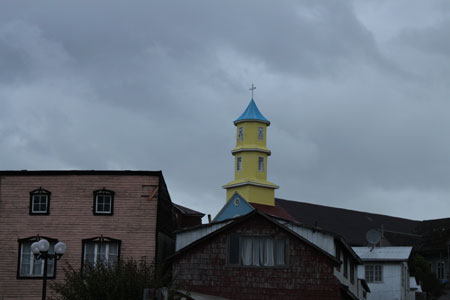 Iglesia de Chonchi en Chiloé