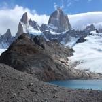 Fitz Roy: la 'montaña que fuma' sin nubes