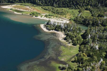 Vista del Lago Verde desde el mirador