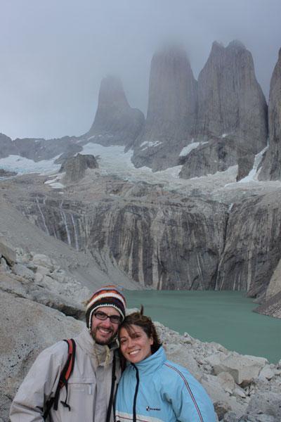 Torres del Paine tras una dura jornada