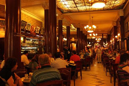 El ilustre café Tortoni