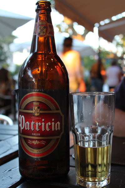 Cerveza uruguaya Patricia