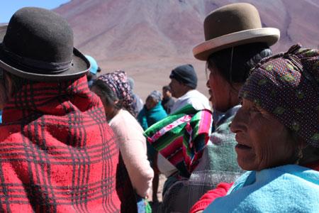 Ofrenda a la Pachamama