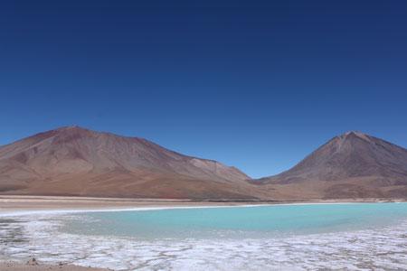 Laguna verde (o azul)