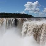 Lluvia de iones negativos en Iguazú