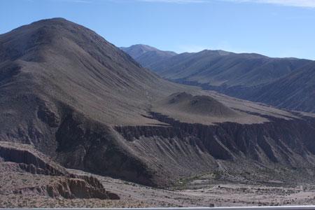 Subiendo por los Andes