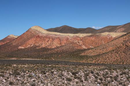 Colores de las montañas