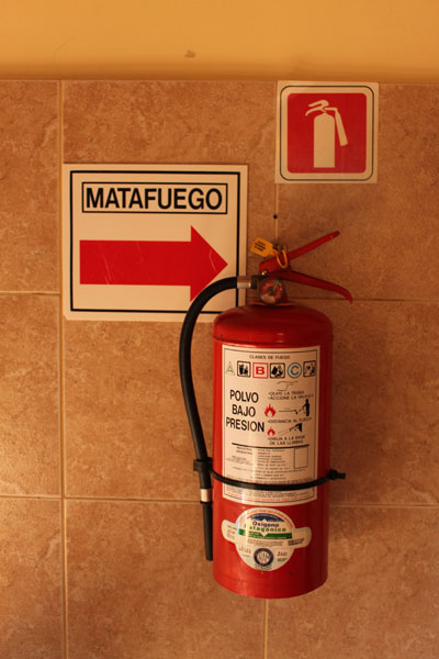Matafuegos argentino