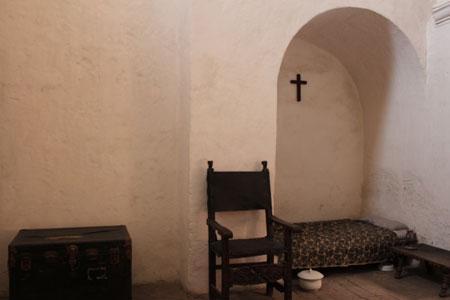Celda de religiosa en Santa Catalina
