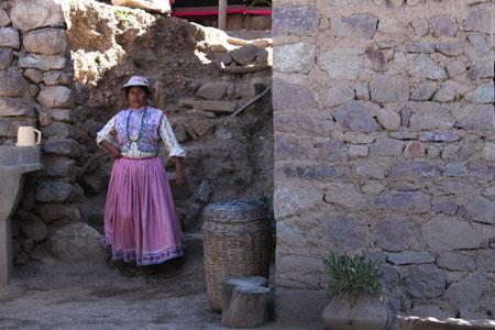 Pueblos en el Cañón del Colca