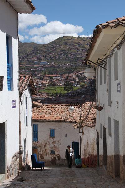 Calle en el barrio de San Blas